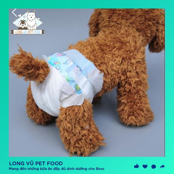 Bỉm cho chó mèo 10 miếng - Long Vũ Pet Food