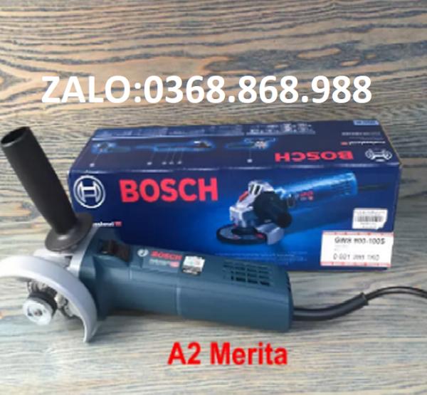Máy mài góc 900W - 100mm BOSCH GWS900-100S (Có điều chỉnh tốc độ)