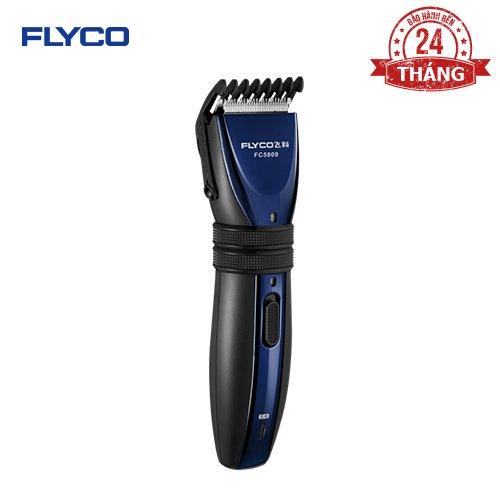 Tông Đơ Cắt Tóc  FLYCO FC5809 cho Người Lớn, Trẻ Nhỏ và Thú Cưng - Pin sạc an toàn - Thiết kế tinh tế - Lưỡi cắt chống ồn - Hàng chính hãng bảo hành 24 tháng
