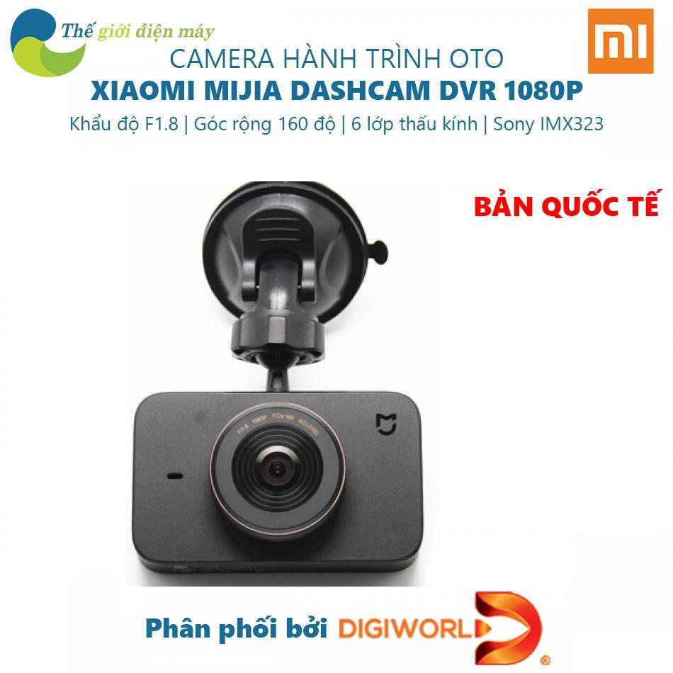 [Bản quốc tế] Camera hành trình oto Xiaomi Mijia DVR 1080P - Dashcam QDJ4014GL - Bảo hành 12 tháng - Shop Thế giới điện máy