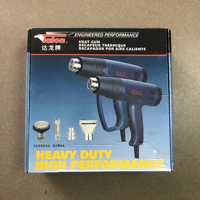 Máy khò nhiệt, thổi hơi nóng Talon 1800w, có thể chỉnh nhiệt độ. Xịn