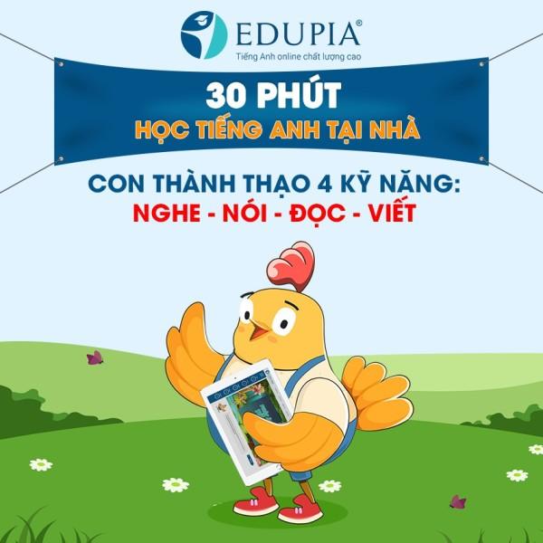 Bảng giá phần mềm Tiếng Anh Edupia gói 2 năm Phong Vũ
