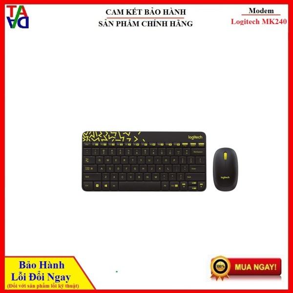 Bảng giá Combo bàn phím + chuột không dây Nano Logitech MK240 Hàng chính hãng - Bảo hành 12 tháng 1 đổi 1 Phong Vũ