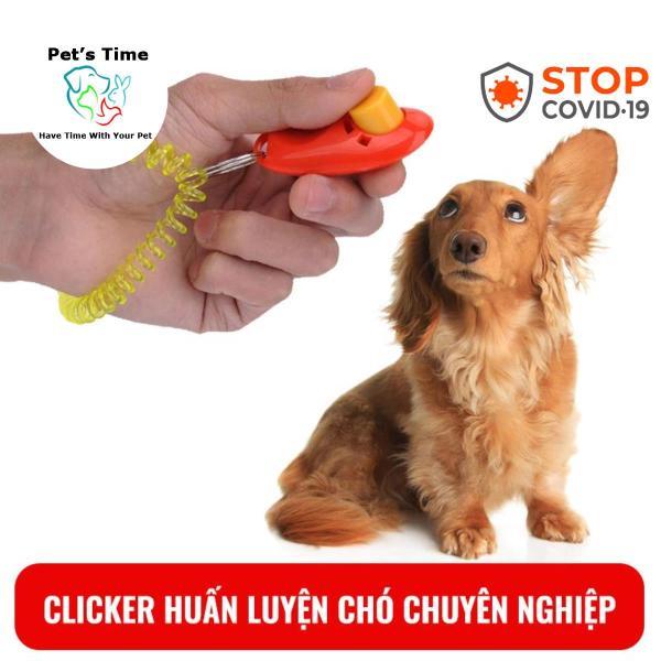 Clicker huấn luyện chó chuyên nghiệp Pets time with you
