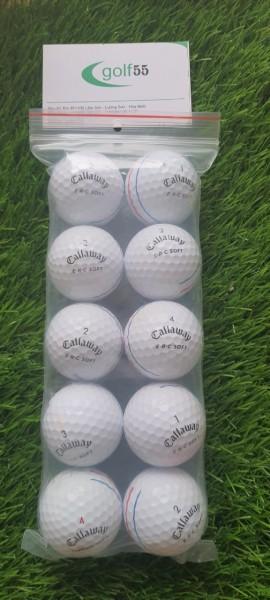 10 Quả Bóng golf Callaway choromsop độ mới 90% đến 99%