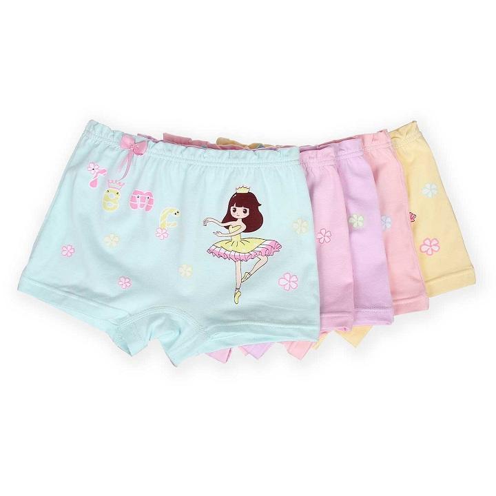 Combo 2 quần chíp đùi cô gái múa bale cho bé