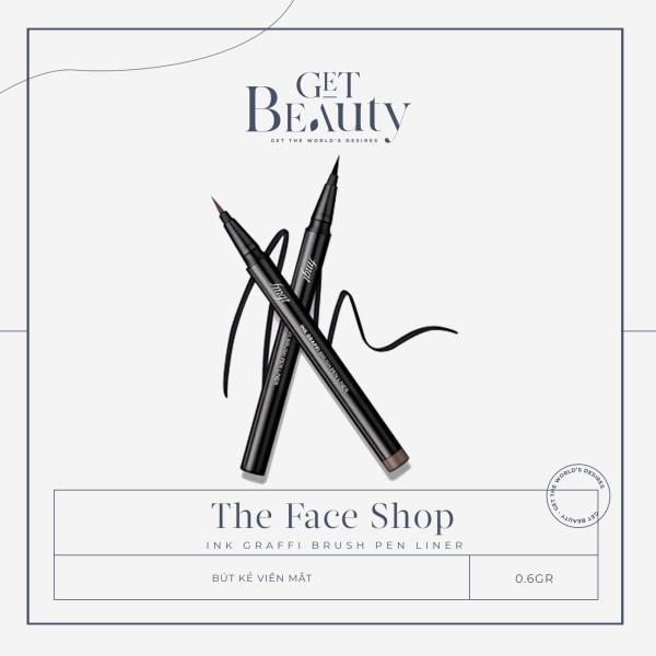 KẺ MẮT NƯỚC THE FACE SHOP INK GRAFFI BRUSH PEN LINER 0.6G giá rẻ