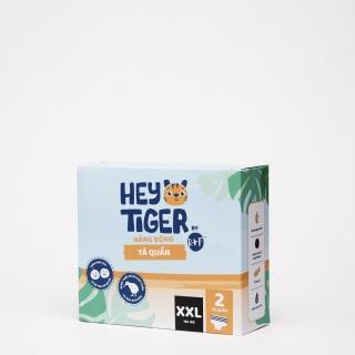 [QUÀ TẶNG KHÔNG BÁN] [HÀNG DÙNG THỬ 2 MIẾNG] Tã Quần Hey Tiger - Size XXL cho bé từ 16kg trở lên thumbnail