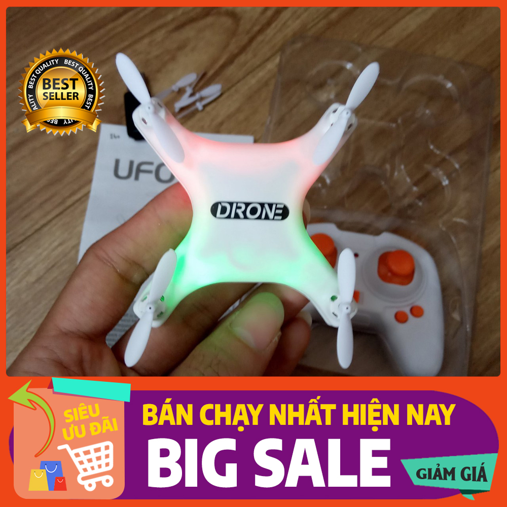 Máy bay Drone điều khiển từ xa 4 cánh drone mini UFO (new 2021)