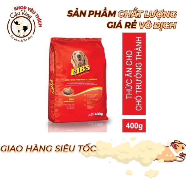 Thức ăn cho chó trưởng thành Ganador Fibs 400 gram | Hạt Fib Cho Chó