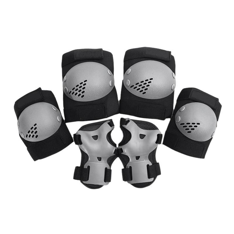 6Pcs 3 - 7 Years Old Outdoor ChildrenS Knee Pads Elbow Guards Protective Gear Set For Roller Skates Riding Bmx Bicycle Skateboard Inline Skating Scooter Riding Sports