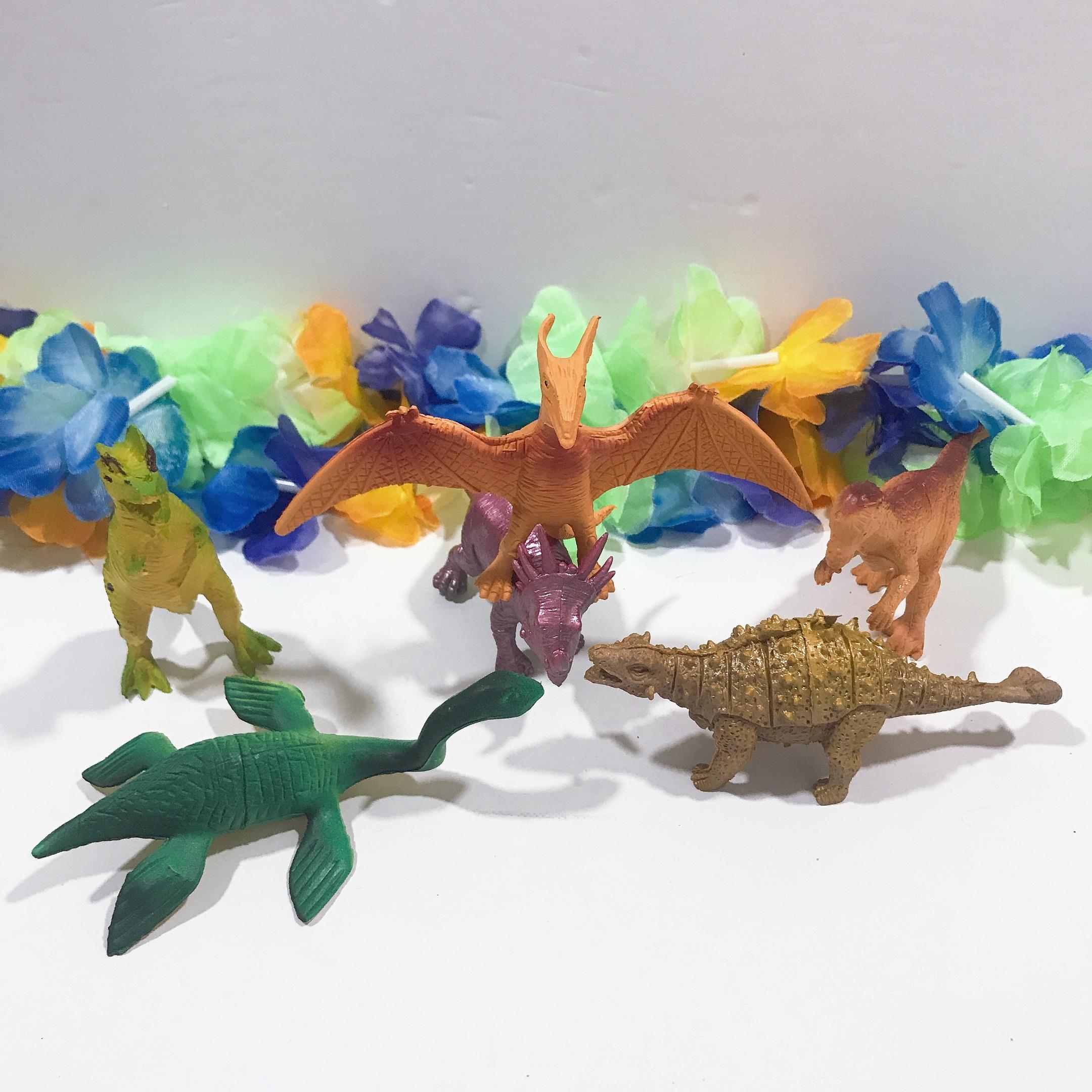 Đồ chơi mô hình 6 khủng long bạo chúa UBL TF0273 10 cm Nhật Bản