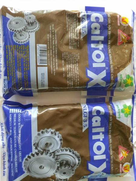 Lốc 2 bịch Mỡ bôi trơn gốc calcium kháng nước cao cấp,  Caltol X 800 gram, thương hiệu Mekong, siêu khuyến mãi, giá cực sốc, MP store