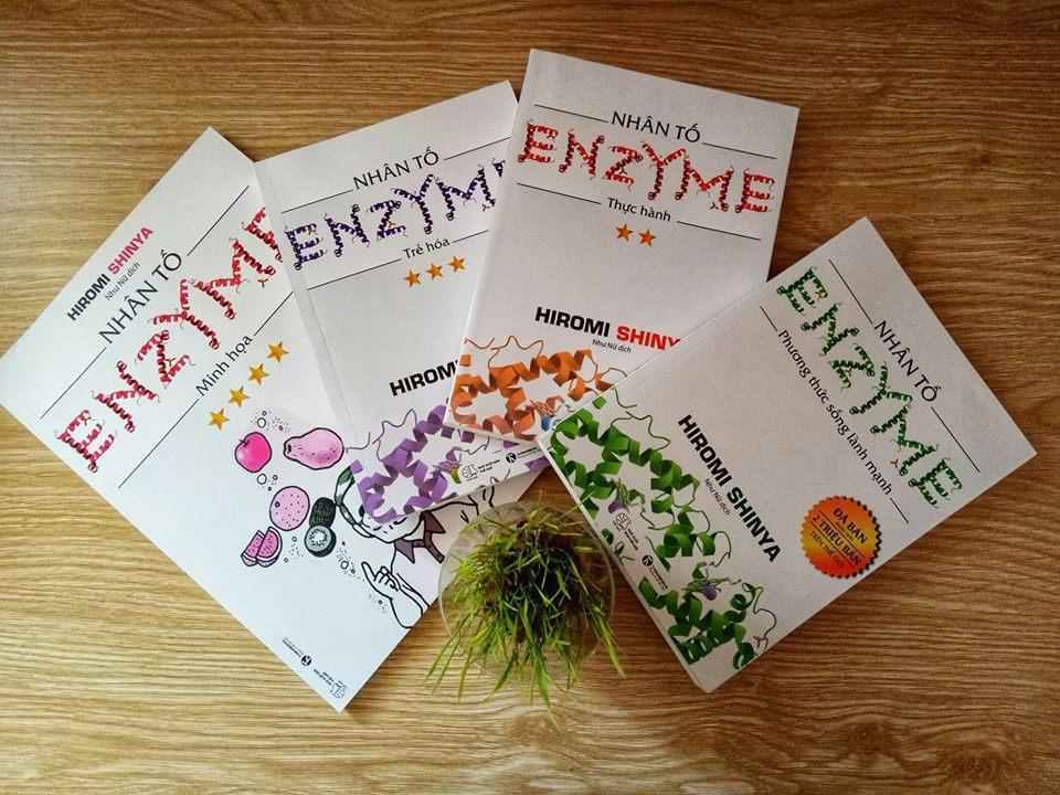 Mua Nhân Tố Enzyme (Trọn bộ 4 cuốn)