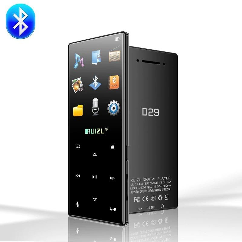 Máy nghe nhạc MP3/Lossless RUIZU D29 hỗ trợ Bluetooth, loa ngoài [8GB]