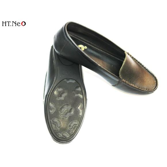 Giày Bệt Nữ 💖 Ht.Neo 💖 Da Bò Thật Siêu Mềm Kiểu Dáng Đơn Giản Mũi Vuông Thiết Kế Theo Chân Việt Nam Cực Dễ Sử Dụng. giá rẻ
