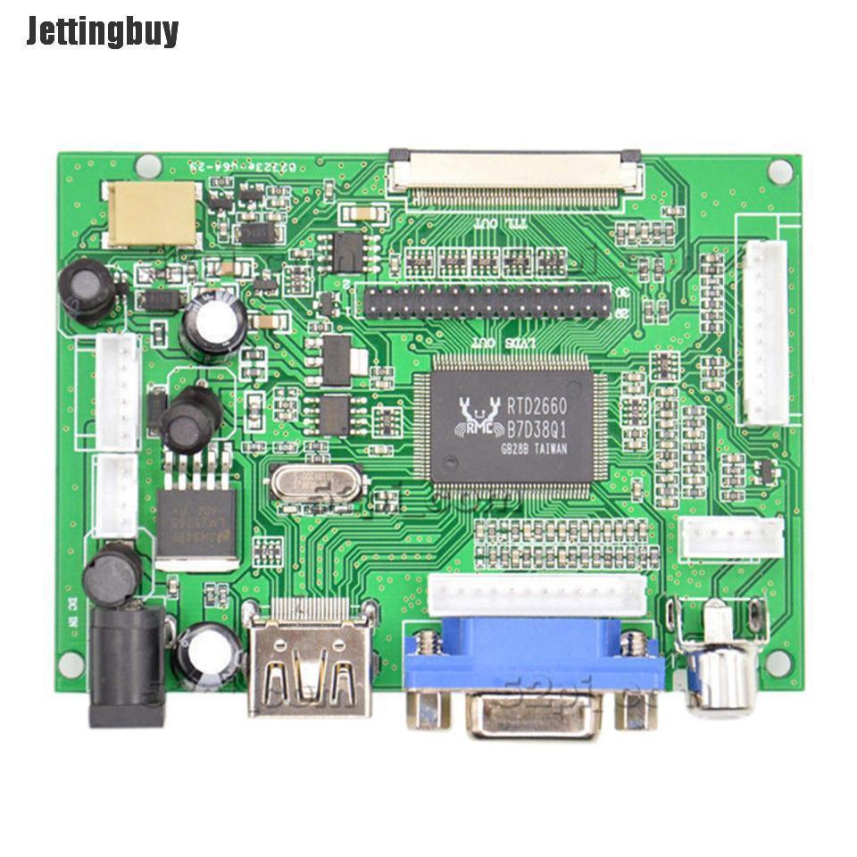 Màn Hình Hiển Thị LCD 7 Inch Jettingbuy Cho Bảng Điều Khiển Raspberry Pi +