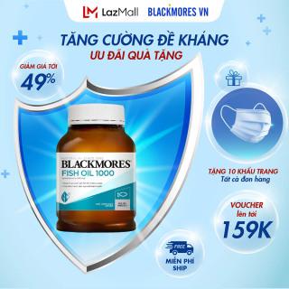 Blackmores fish oil 1000mg 400v - Dầu cá tự nhiên Blackmore Úc, bổ sung omega 3 - Haloco VN thumbnail