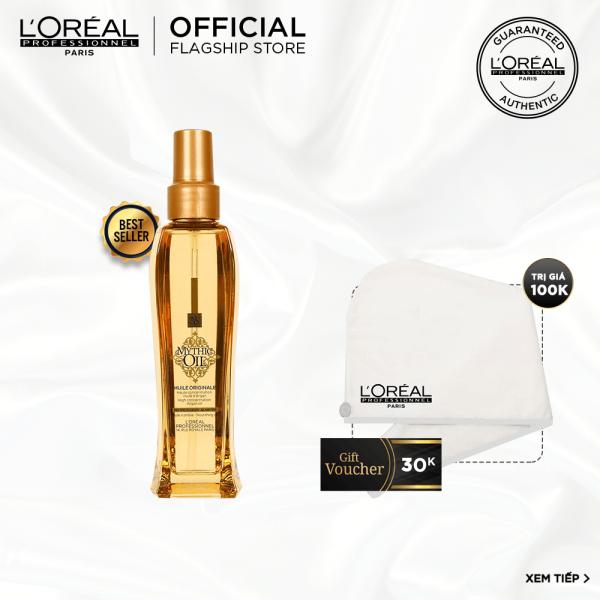[Tặng Voucher 30K] Dầu dưỡng tóc bóng mượt cao cấp LOréal Professionnel Mythic Oil 100ml