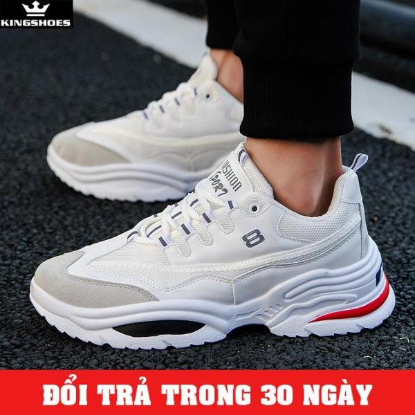 Giày Sneaker Nam Cao Cấp Phong Cách Hàn Quốc  (Giá Siêu Sốc) - KINGSHOES (KS10) thiết kế thời trang phong cách trẻ trung, hiện đại, cá tính