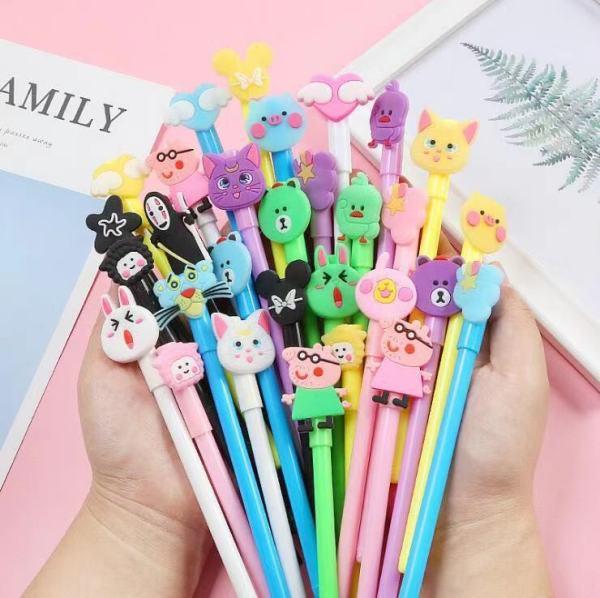 Mua Set 20 Bút cute tặng kèm túi đựng bút