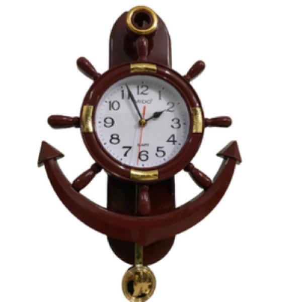 (xả hàng 3 ngày)đồng hồ treo tường kim trôi quả lắc thời trang cao cấp F5 LIDU bán chạy