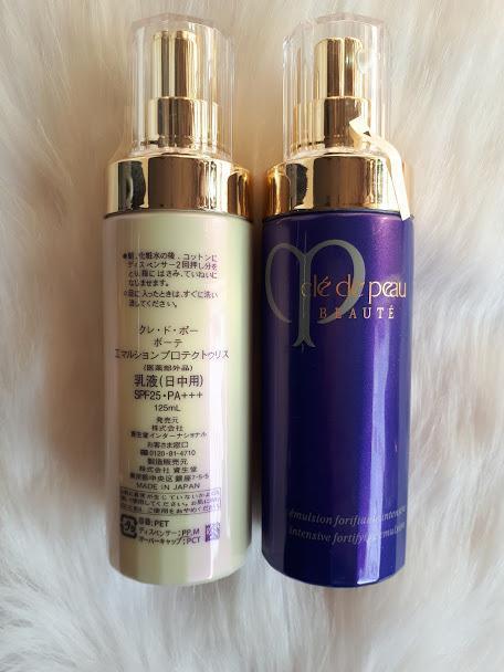 Sữa dưỡng Cle de Peau Beauté protective FortiFying Emulsion 125ML