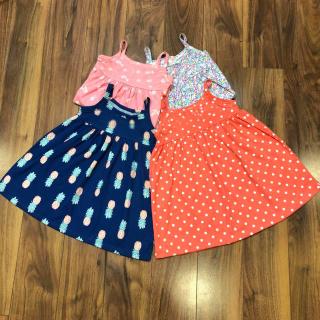 Váy Hai Dây Bé Gái Đầm Cotton Trẻ Em 7-28kg Dáng Babydoll Họa Tiết Nhí Nhiều Màu Dễ Thương VAY G1003 (Giao Màu Ngẫu Nhiên) thumbnail