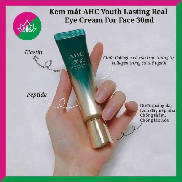 Kem mắt AHC Hàn Quốc 12ml – Bản nâng cấp mới – Hoàn hảo về mọi mặt - xoá thâm, chống lão hoá, giảm bọng mắt và dưỡng ẩm