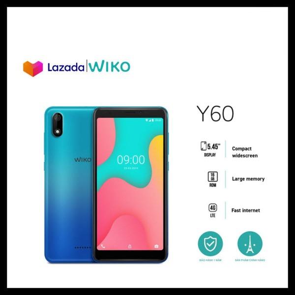 Điện thoại Wiko Y60 - Ram 1GB, Rom 16GB, Pin 2500 mAh, Màn hình 5.45, Camera sau 5.0 MP, Camera trước 5.0 MP - Hãng phân phối chính thức