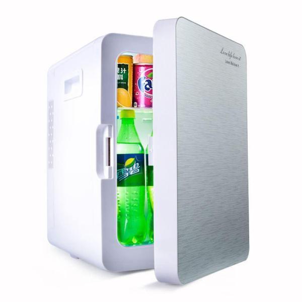 [20 LÍT] Tủ lạnh 20L - Tủ lạnh mini - Tủ lạnh 20 Lít 2 chiều nóng - lạnh nguồn vào 12v/220v-Tủ lạnh mini cho xe ô tô và hộ gia đình (Màu họa tiết ngẫu nhiên)
