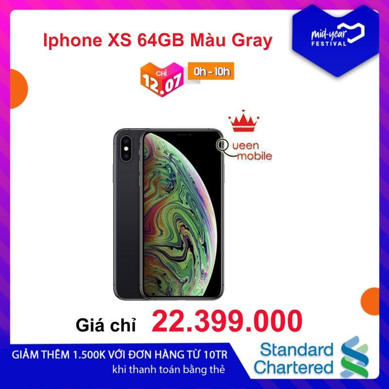 Điện Thoại Iphone XS 64GB Màu Gray