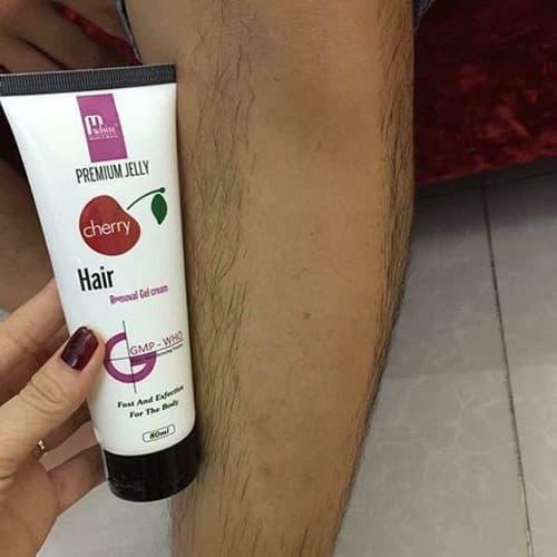 Kem triệt lông Cherry Ức chế mọc lông, lông mọc mảnh thưa hơn. ⁃ Giúp sáng vùng da sau khi tẩy lông dùng cho cả nam cạo râu tốt nhất
