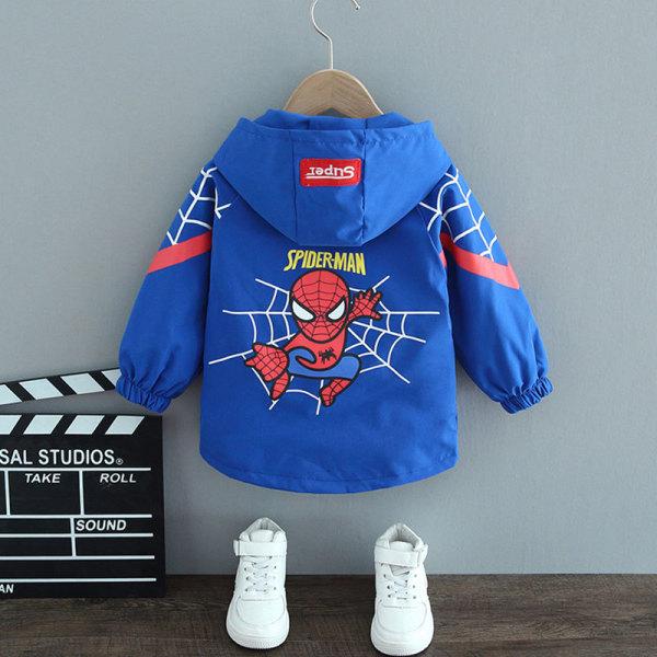 🍓 Áo khoác trẻ em 🍓 Áo khoác gió 2 lớp cho bé hình siêu nhân nhện dáng suông ( SPIDERMAN 3) cực ngầu, siêu đẹp (AKZ04)
