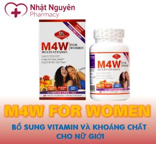 M4W FOR WOMEN OLYMPIAN LABS - Bổ sung vitamin và khoáng chất cho nữ giới thumbnail