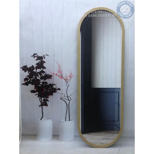 40x100cm Gương soi toàn thân CÓ CHÂN V2 Gương treo tường