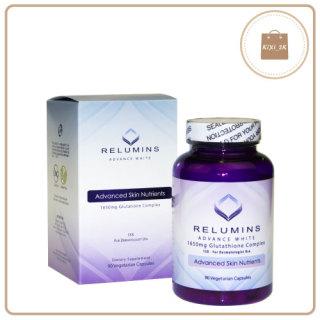 Viên uống trắng da Relumins Advance White 1650mg Glutathione Complex 90 viên của Mỹ 87 255 thumbnail