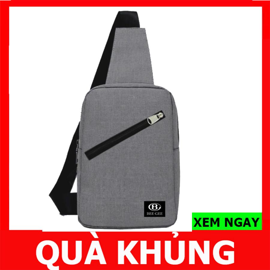 Túi đeo Chéo Nam Nữ Unisex Túi Du Lịch Thời Trang Hàn Quốc Bee Gee 023 ( CÓ VIDEO ) Với Giá Sốc