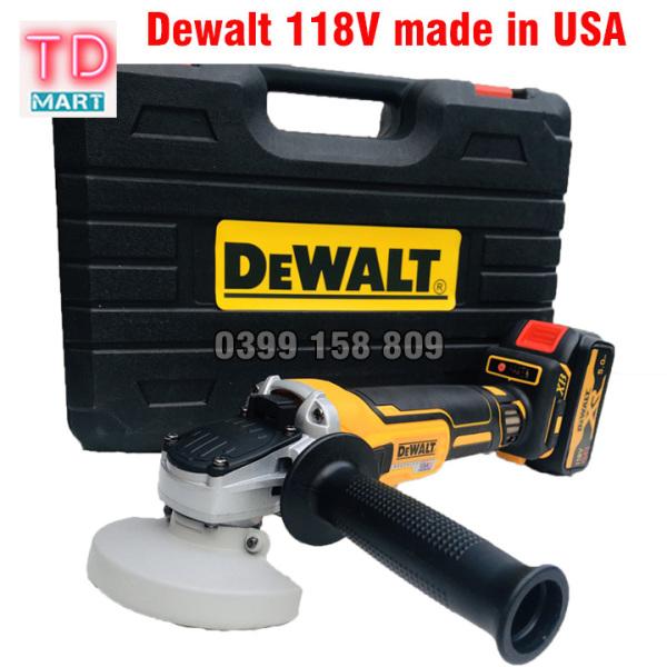 Máy mài pin Dewalt 118V Không Chổi Than 3 cấp độ, Lõi đồng  Made in USA