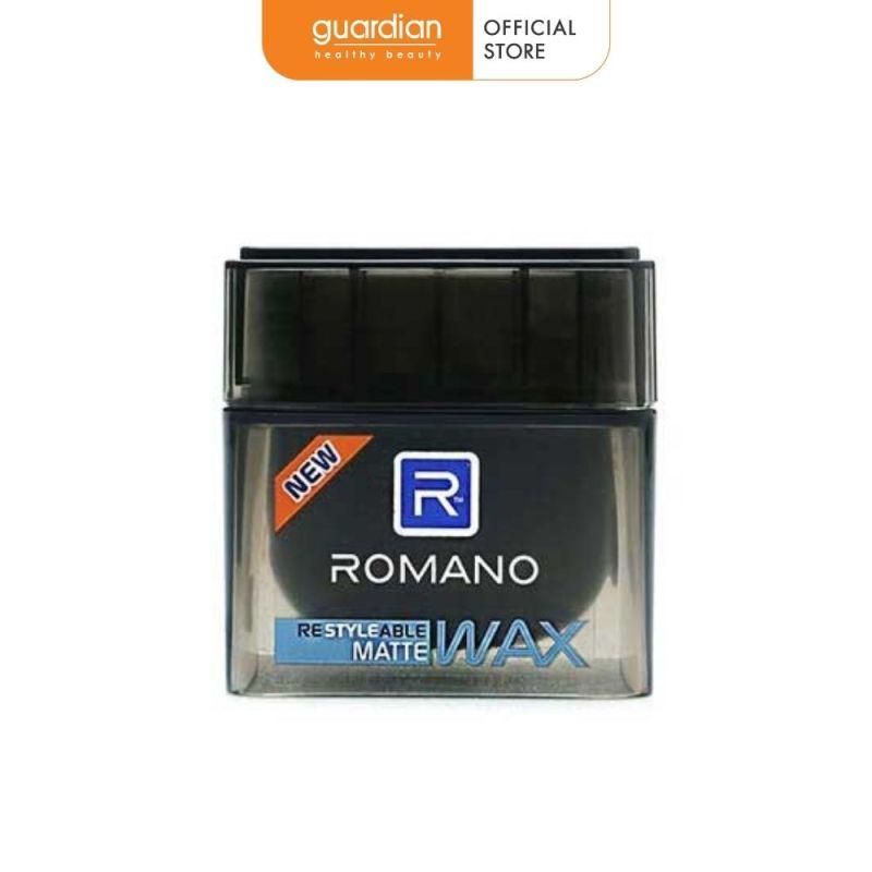 Sáp tạo kiểu tóc Giữ nếp tự nhiên Romano Restyleable Matte 68g giá rẻ