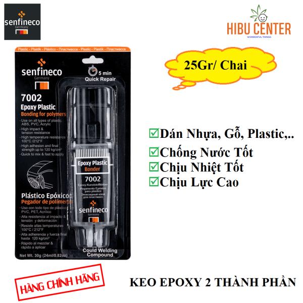{Cao Cấp} Keo Dán Nhựa Hai Thành Phần SENFINECO 7002 Epoxy Plastic Bonde 25 Gram/ Chai – HÀNG CHÍNH HÃNG