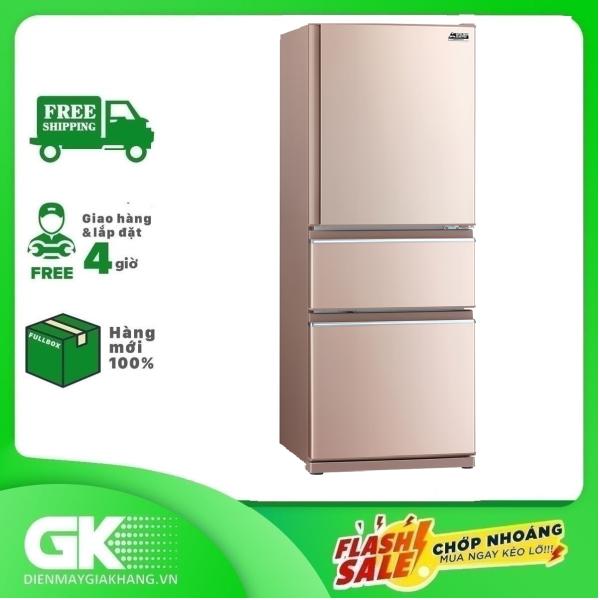 TRẢ GÓP 0% - Tủ lạnh Mitsubishi Electric 326 lít MR-CX41EJ-PS-V- Bảo hành 2 năm