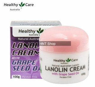 Healthy Care Lanolin Cream With Grape Seed Oil 100g thumbnail