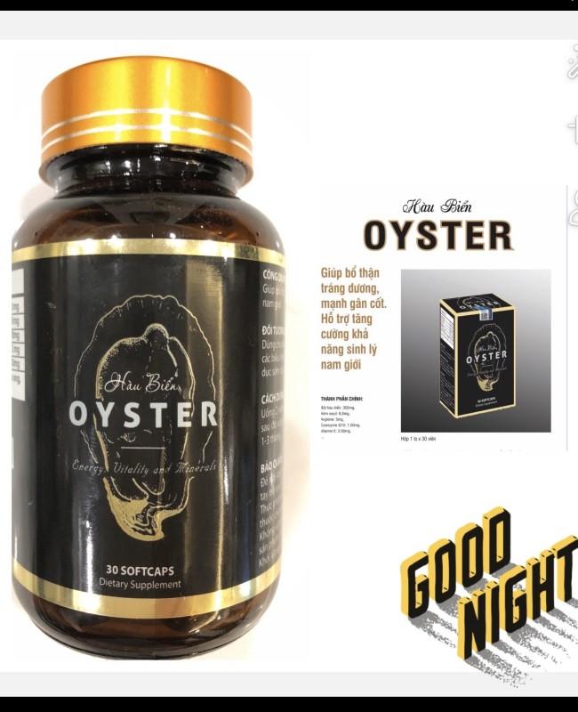 TINH CHẤT HÀU BIỂN OYSTER- bổ thận, tráng dương, tăng cường sinh lý nam giới- sản phẩm của GERMANYPharma