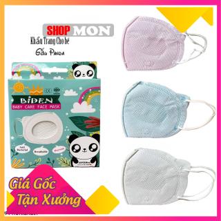 Khẩu trang trẻ em Gấu panda hàng công ty Cửu Long hộp 10 cái (1 tuổi tới 6 tuổi) thumbnail