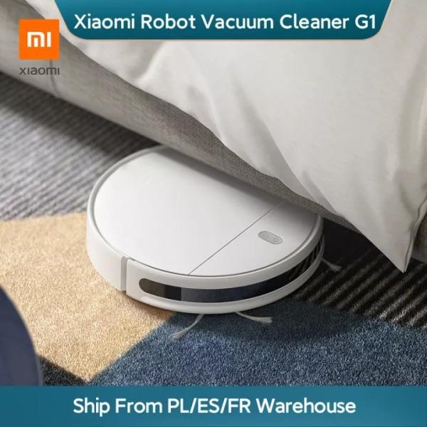 【Allbe siêu hot2】Máy hút bụi Xiaomi Mi Robot G1 Cây lau nhà cần thiết cho nhà thông minh Không dây quét dọn vệ sinh Máy lau điện MIJIA Thảm bụi