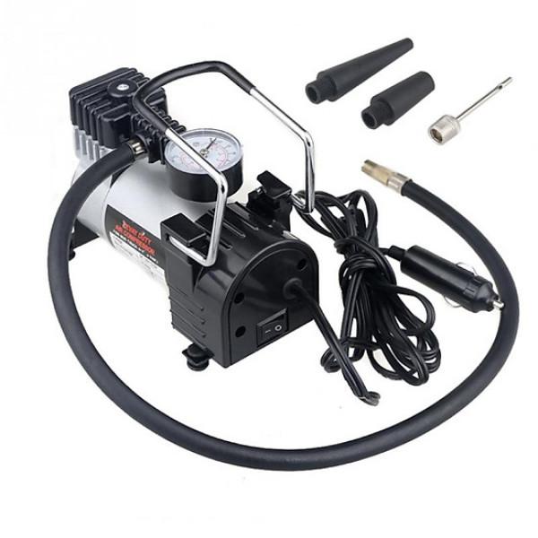 Máy nén khí mini, máy bơm hơi mini - Máy bơm lốp xe Shu Dika 12V, thiết kế nhỏ gọn, an toàn,tiện lợi