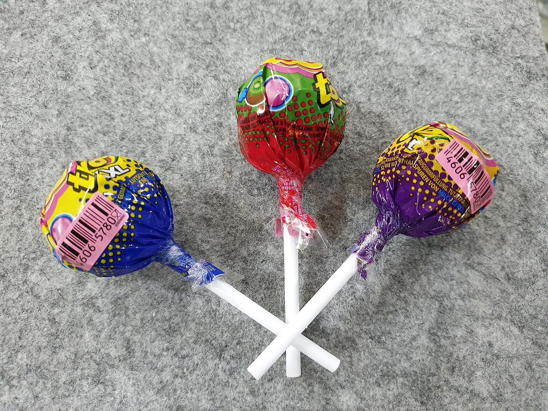 [Siêu hot] Combo 3 cái kẹo Chupa Chups size XXL Trio 3 in1 vị Cola, Vị Dâu Tây, Vị Táo : Lớp 1 : Kẹo mút, lớp 2 : siro, lớp 3 : singum ( Mẫu mới  - Nội địa Holland - Xách tay Hà Lan - HSD : 8/2020)