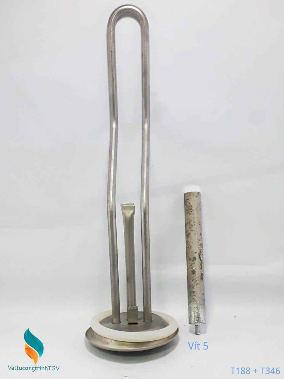 Bộ sợi đốt bát 9,3*32cm + Thanh magie 5mm cho Bình nóng lạnh FERROLI(188+346)