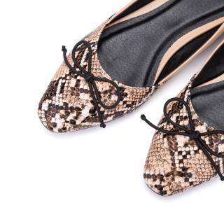 Giày nữ Bale trang trí